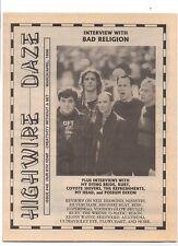 Highwire Daze December 1994 Gigolo Aunts Goodoo Gurus Pretenders Nirvana MBX74