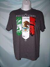 Fifth Sun Gray Mexico Futbol Soccer Short Sleeve T-Shirt Size XL & 2XL NWT
