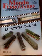 Mondo Ferroviario 141 1998 News 98 Top Train Rivarossi