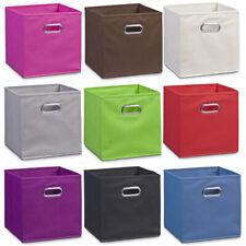 Vlies Aufbewahrungsbox Kiste Box Faltbox Faltkorb Faltkiste Einschubkorb Einsatz