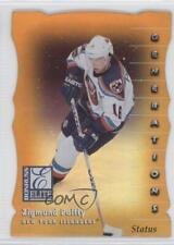 1997-98 Donruss Elite Promos Gold Die-Cut Status #130 Ziggy Palffy Hockey Card