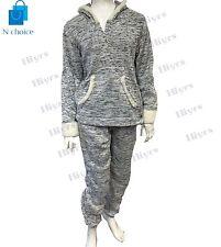 Femme Pyjamas Survêtement Pyjama Bodkin Gris Super Soft Nightwear PJ UK Lot