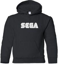 SEGA Hooded Sweatshirt COOL RETRO VIDEO GAME Logo Hoodie GEEK HOODY