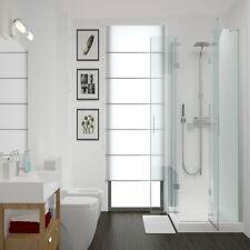 Aquabord White Gloss 2 Wall Shower Kit 1m Wide PVC T&G Waterproof Panels IPSL