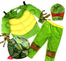 NEW Sz 2~10 KIDS BOYS COSTUME MUSCLE NINJA TURTLE CHILDREN SUPERHERO DRESS UP