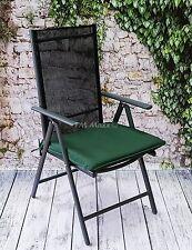 Stuhlkissen Bootskissen Sitzkissen Gartenkissen Grün Wasserabweisend 52x53,5cm