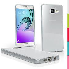 Glossy TPU Gel Case for Samsung Galaxy A5 SM-A510 2016 Skin Cover + Screen Prot
