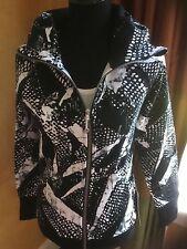 Lululemon Scuba Hoodie III Jacket SMWK/BLK (Black/white print) 6 8 10 12 NWT