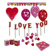Hochzeit Dekoset Liebe Dekoration Luftballons I Love You Raumdeko und Tischdeko