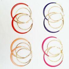 Ladies Dangle Earrings Indian Accessory Fashion Jewellery Elegant Partywear Hoop