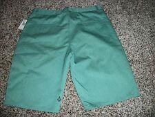 VOLCOM STONE New NWT Mens Walk Shorts Casual Green Solid Chino 32 33 34 36 38