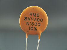 15PF to 390PF - 3000V - S2L Temp. Compensating Ceramic Capacitors - MALLORY
