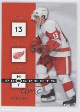 2005-06 Fleer Hot Prospects Red #35 Pavel Datsyuk Detroit Wings Hockey Card