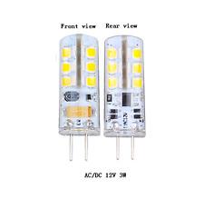 1 3 6 8 10 12 X 3W G4 24 Leds AC/DC 12V SMD 3014 Bulb Light Lamp Warm Cool White