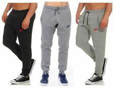 New Men's Nike AiR Fleece Joggers Tracksuit Bottoms Track Jogging Pants Slim Fit