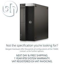 Dell Precision T3600 Eight 8-Core Xeon Workstation Quadro GFX 32GB RAM Tower