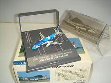 """Hogan 500 ANA ANK Air NIppon B737-400 """"Island Dolphin - Display Case"""" 1:500 NG"""