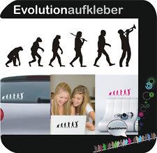 Trompete Evolution Instrument Wandaufkleber Sticker Wandtattoo Aufkleber W384