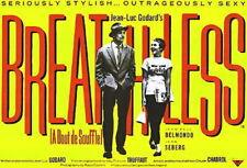 Breathless A bout de souffle 1960 Jean-Luc Godard #11 movie poster print