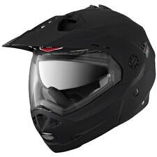 Caberg Tourmax Matt Black Flip Up Adventure Motorcycle Helmet