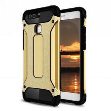 Full Armor cover para Huawei p9, funda protectora, bumper, protección híbrida outdoor oro