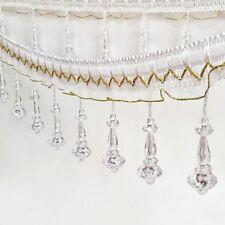 9 cm Fringe Tassel Trim Lace Catenary Polyester À faire soi-même Latin rideau Lampe environ 9.14 m 10 Yd