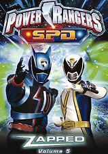Power Rangers SPD - Zapped: Vol. 5 DVD Austin, Matt, Davison, Josephine, Duncan,