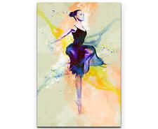 Ballett II als Premium Leinwandbild
