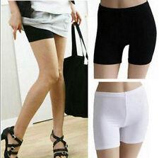 Women Lady Fashion Pants Leggings Seamless Basic Plain Underwear Safety Shorts