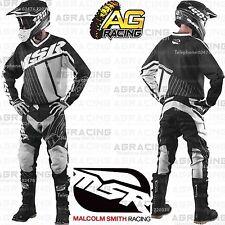 MSR 2017 Axxis Black White Grey Jersey Pants Gloves Combo Kit Motocross Enduro