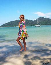 2X porté h&m Garden Collection Boho Kimono Robe Tunique UK 10 12 US 6 8 EU 36 38