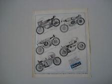 advertising Pubblicità 1970 MOTO PROTAR BARAVELLI