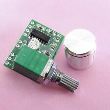 PAM8403 Mini Digitale Amplificatore + Manopola Argento 2*3W Classe D bordo Stereo Modulo 5V
