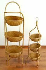 Bambusregal mit 3 Körben, Bambuskörbe, Badezimmer - Küchen Regal