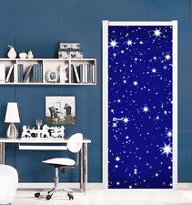 3D Sternenhimmel Tür Wandmalerei Wandaufkleber Aufkleber AJ WALLPAPER DE Kyra