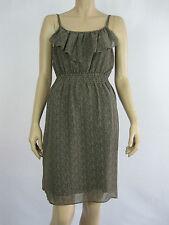 Crossroads Ladies Sleeveless Ruffle Front Dress sizes 10 14 16 20 Animal Print