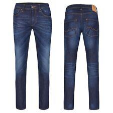 JACK & JONES Slim Fit Jeans Hose GLENN Blue Denim Unisex Gr. 27 - Gr. 34