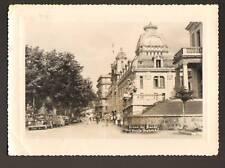 EVIAN-les-BAINS (74) PEUGEOT 203 aux THERMAL en 1960