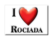 SOUVENIR USA - NEW MEXICO FRIDGE MAGNET I LOVE ROCIADA (SAN MIGUEL COUNTY)
