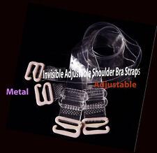 Transparent Invisible Adjustable Shoulder Bra Straps width 15mm
