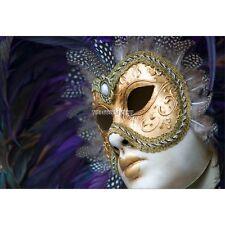 Stickers muraux déco : Masque de Venise 1580
