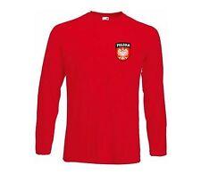Poland Polish Polska Boys Girs Kids Football Soccer T-shirt - All Youth Sizes