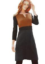 New Womens Brown Black Grey NEXT Dress Size 10 Tall 10 8 RRP £38