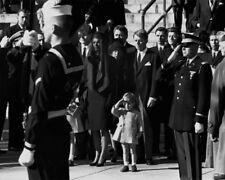 1963 John F Kennedy Jr @ President JFK Funeral Glossy 8x10 Photo Political Print