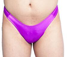 Gaff  Panty For Crossdressing & Transvestite Men SHINY PURPLE