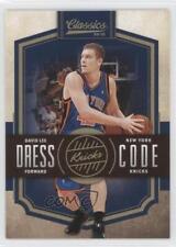 2009-10 Panini Classics Dress Code Gold #11 David Lee New York Knicks Card