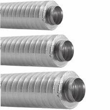 Telefonie Schalldämpfer Lüftung 100 125 mm Rohrschalldämpfer Wickelfalz Aluflex