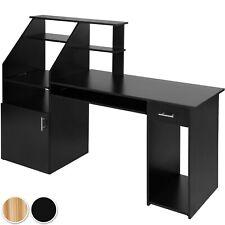 Bureau design informatique en bois mobilier moderne meuble avec rangement