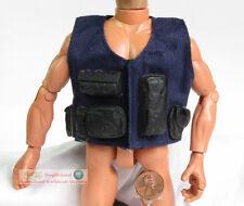 1:6 Action Figure Model SWAT Tactical BULLETPROOF BODY ARMOR Vest Jacket DA82