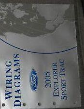 2005 Ford Explorer Sport Trac Electrical Wiring Diagram Service Shop Manual EWD